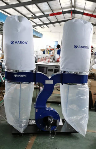 Aaron DC-2200 - Twin-bag 3HP Dust Collector