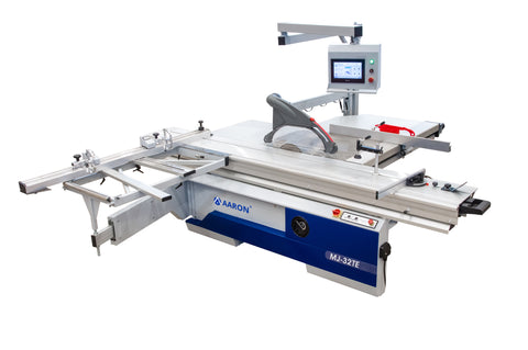 Aaron 3.2 metre digital precision panel saw, MJ-32TE, woodworking machinery