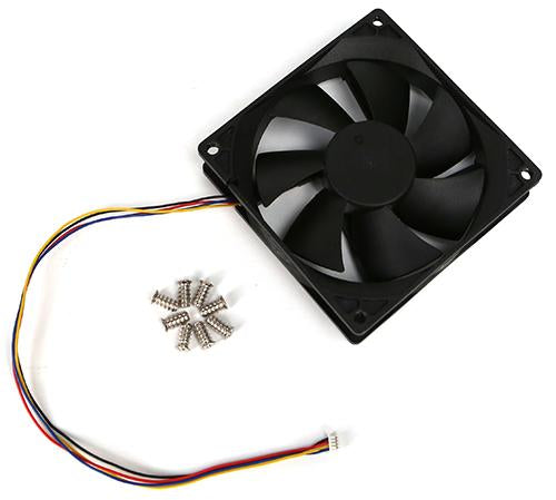 DC Cooling Fan 92x92x25mm Tacho with PWM and Speed Sensor