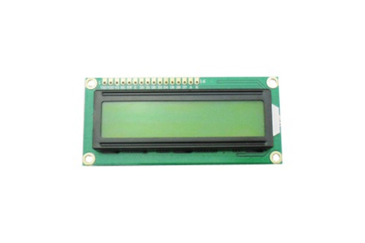 1602A 16x2 Character LCD Display Blue Backlight and White Text