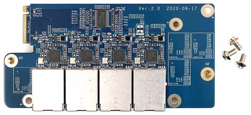 Odroid H2 and H2+ Net Card with 4x 2.5 GbE Ports