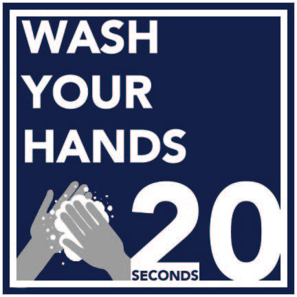 Wash Your Hands Decal 5