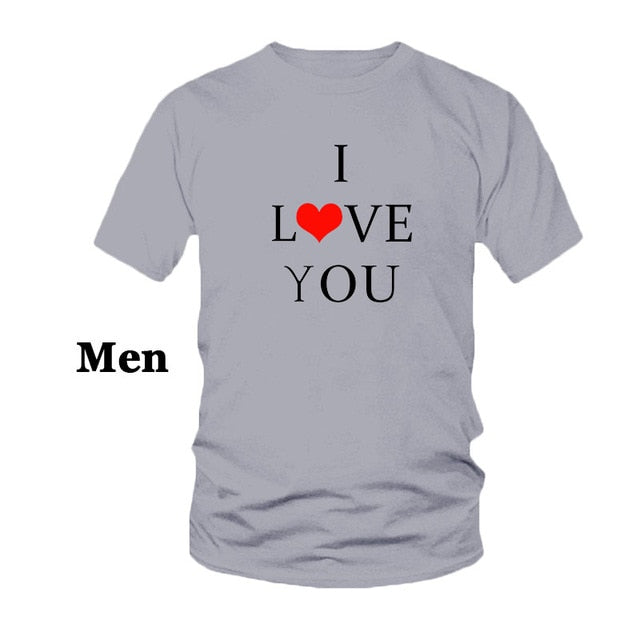 Love - Love More T-Shirt For Couples