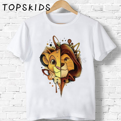 Simba Lion King Kids T-Shirt