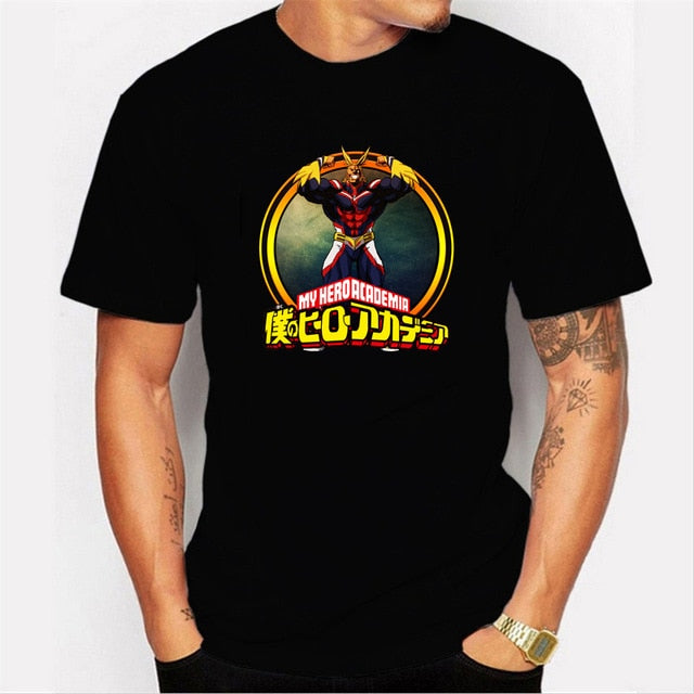 Anime Mens T-Shirt Short Sleeve