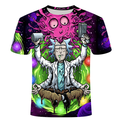 Rick and Morty Men's T shirt