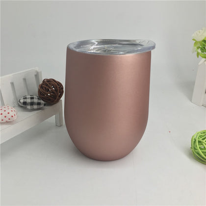 12oz Double wall stainless steel mug