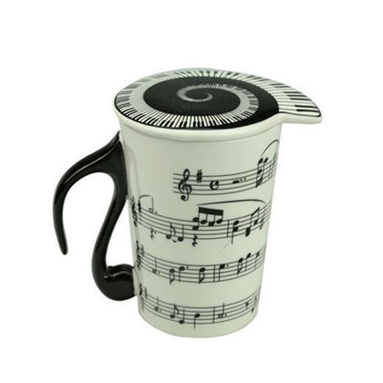Music Note Ceramic Mug