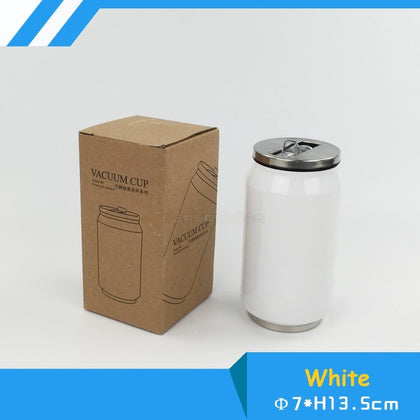 Blank Sublimation 280ml/500ml Coke thermos Bottle Cup