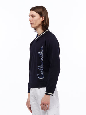 SIGNATURE KNIT NAVY BLUE