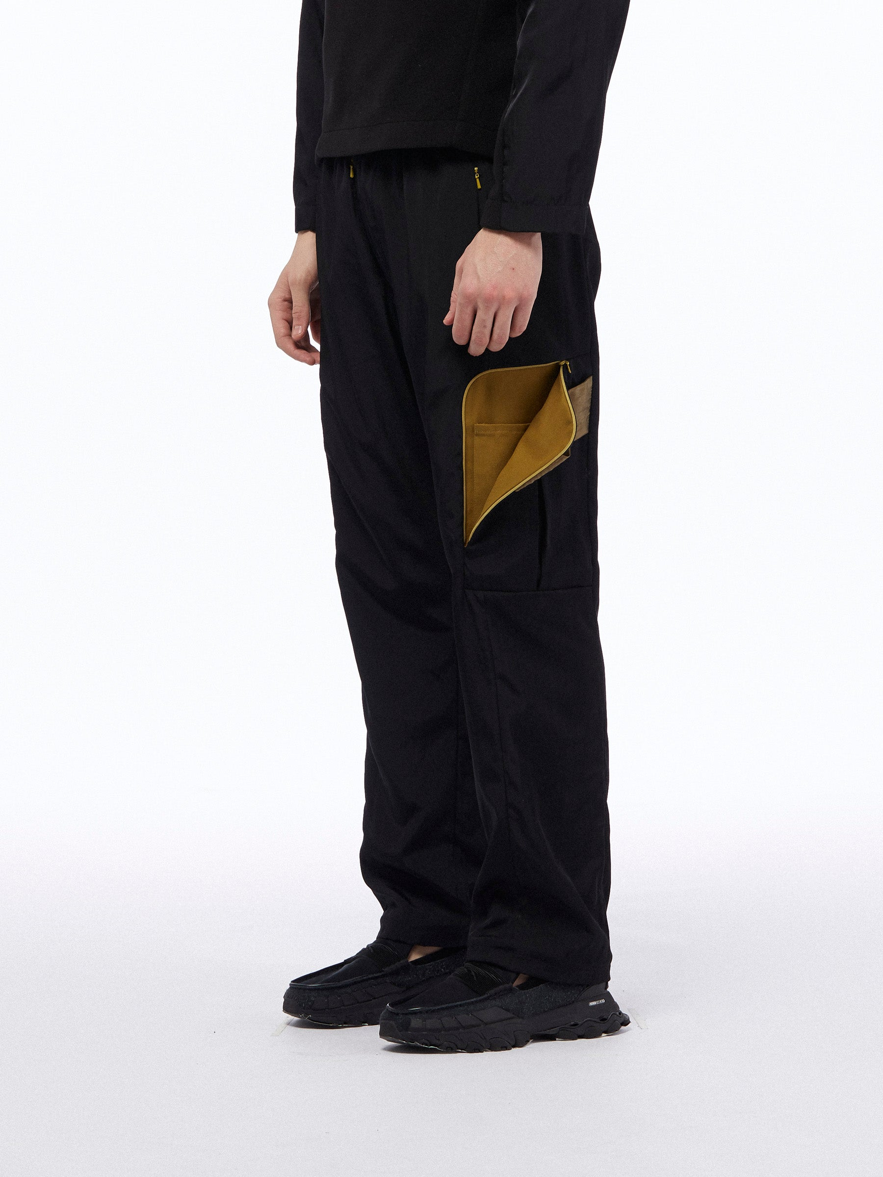MOTOR COMBAT TROUSERS - BLACK