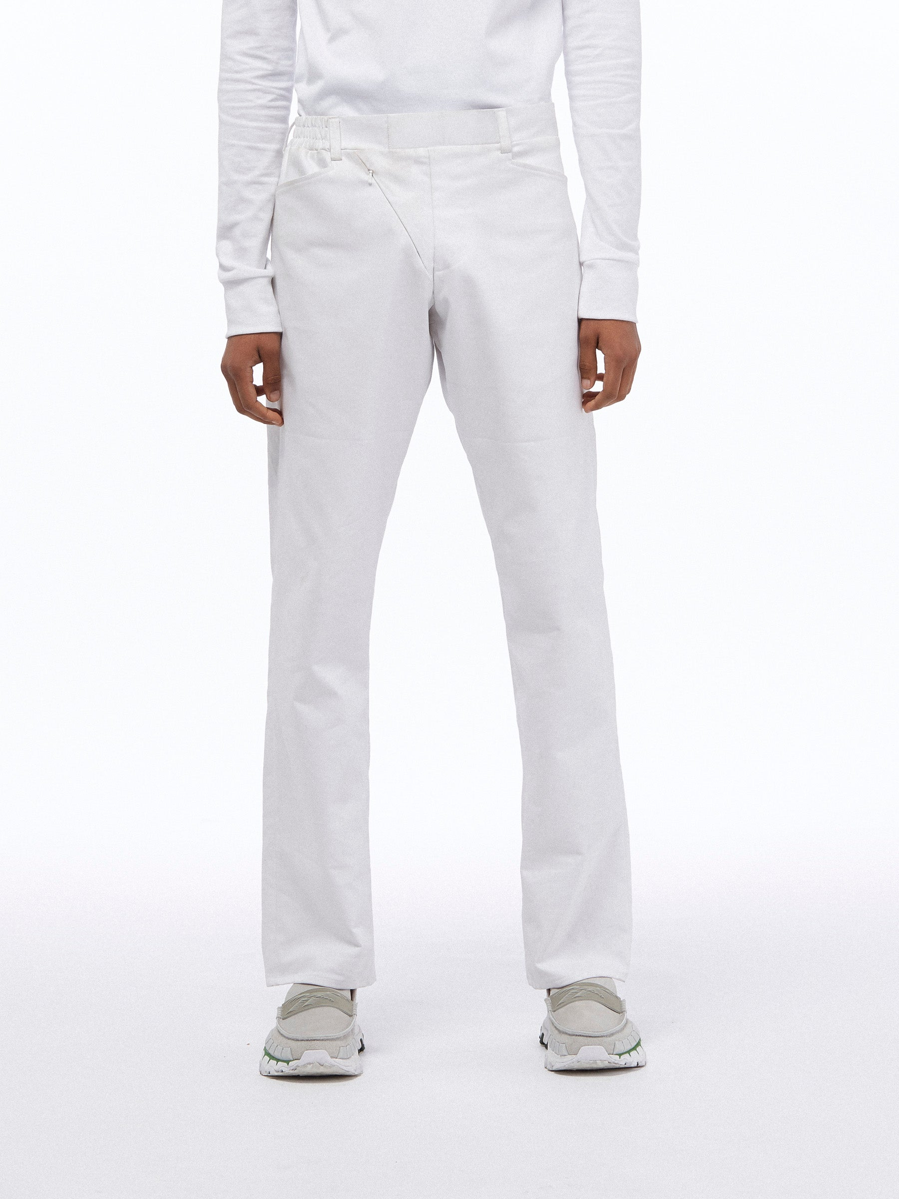 GOLF TROUSERS - WHITE