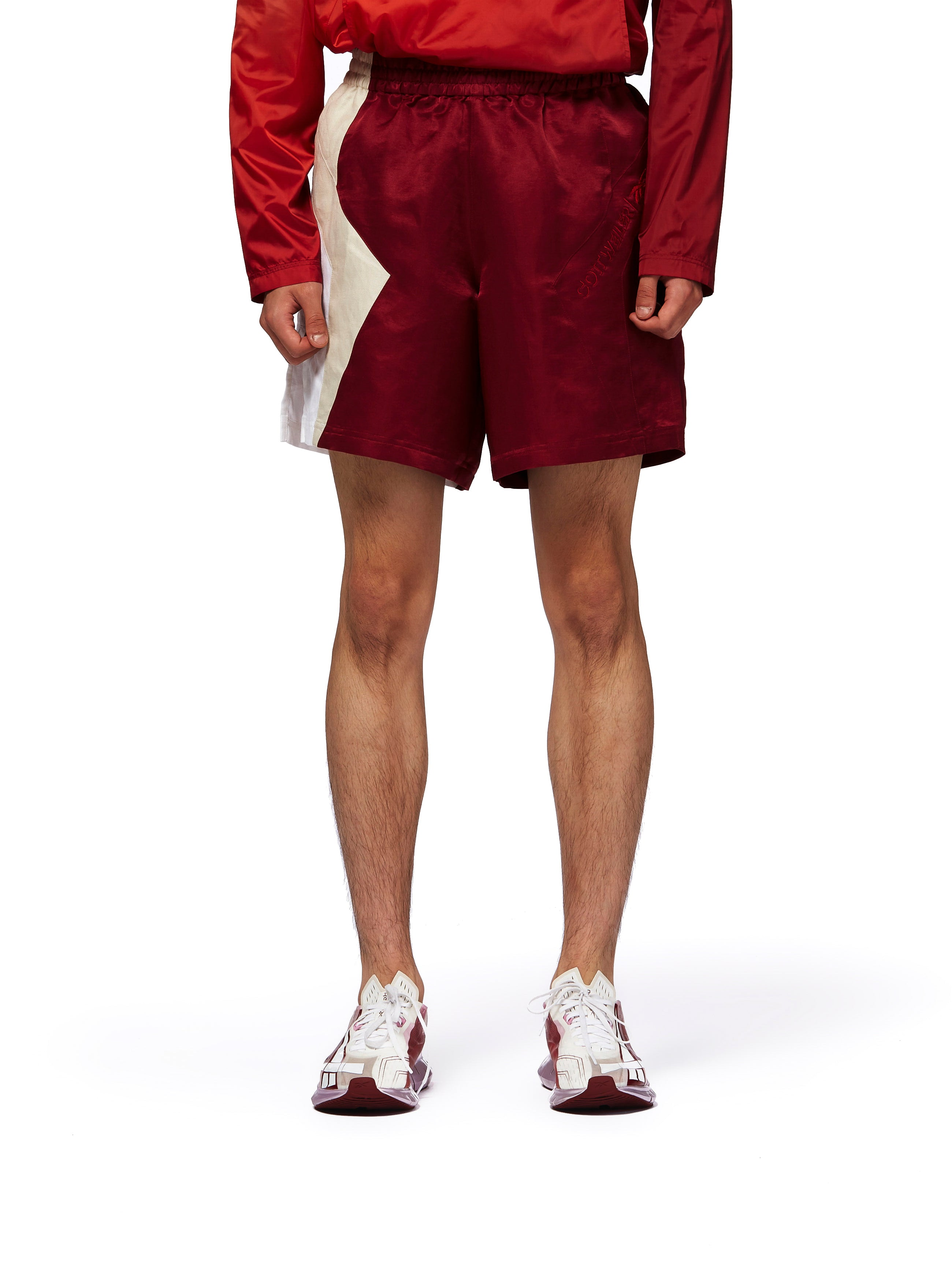 COTTWEILER FOR REEBOK R&C SHORTS - RED