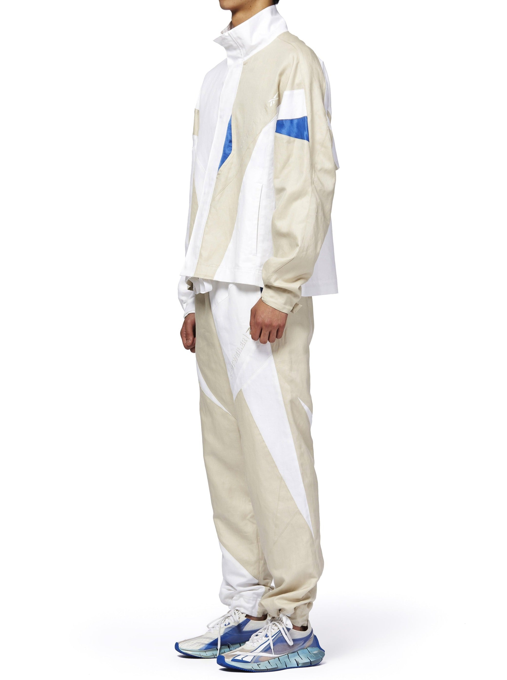 COTTWEILER FOR REEBOK TRACKSUIT - BEIGE/WHITE/BLUE