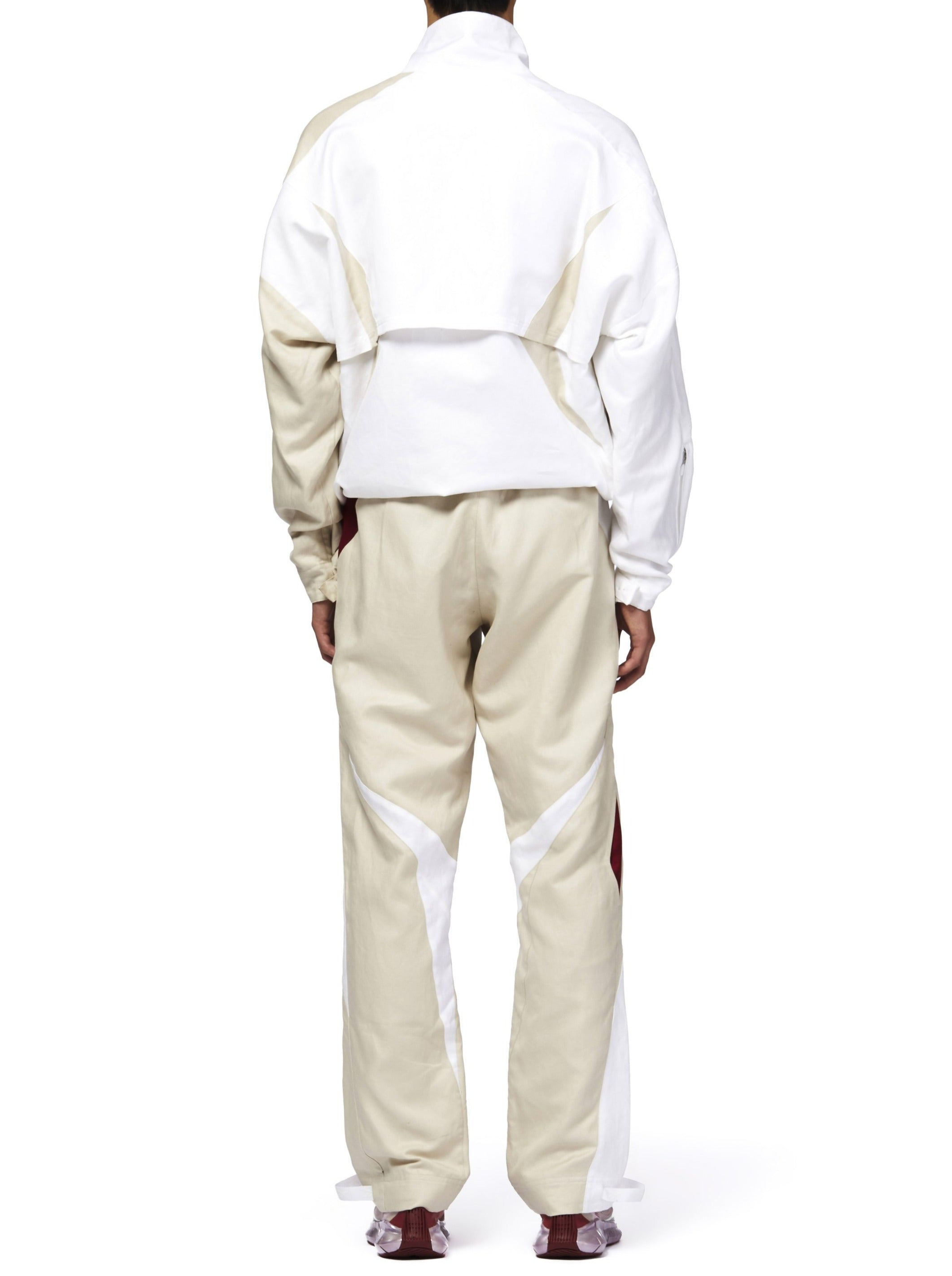 COTTWEILER FOR REEBOK TRACKSUIT - BEIGE/WHITE/RED