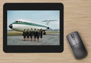 AER LINGUS BAC 111 and Cabin Crew MOUSE MAT