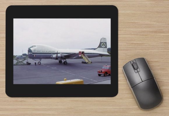 AER LINGUS Carvair Cargo aircraft MOUSE MAT