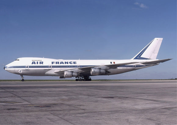 AIR FRANCE AF AIR FRANCE 747 N28903 IN OLD COLOURS- 6 x 4 Print AF001