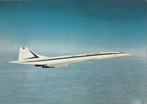 AIR FRANCE Concorde F-WTSD in original livery -  6 x 4 Print AF012