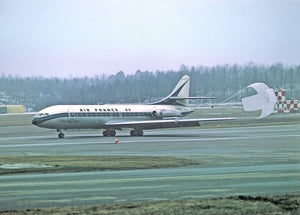 AIR FRANCE Caravelle F-BHRC with parachute  6 x 4 Print AF008