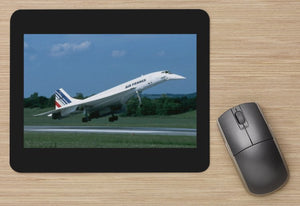 AIR FRANCE CONCORDE Landing aircraft MOUSE MAT