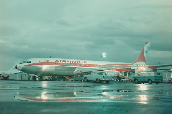 AIR INDIA Boeing 707 -  6 x 4 Print AI001