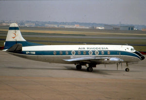 AIR RHODESIA VISCOUNT VP-YNP -  6 x 4 Print AG001