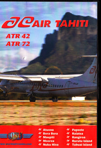 AIR TAHITI AT 42 72 Aircraft Flying DVD - JUST PLANE VIDEOS