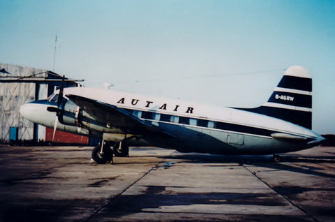 AUTAIR International Vickers Viking G-AGRW-  6 x 4 Print AU020