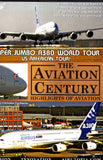 AIRBUS A380 US AMERICAN TOUR Aircraft DVD