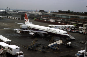 British Airways Boeing 707 G-ARRB  -  6 x 4 Print BA005