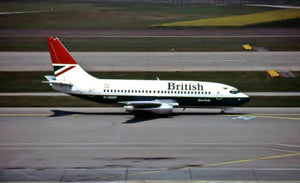 British Airways Boeing 737 G-BGDT  -  6 x 4 Print BA014
