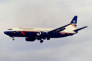 British Airways Boeing 737 G-DOCW Landor Livery - ORIGINAL SLIDE