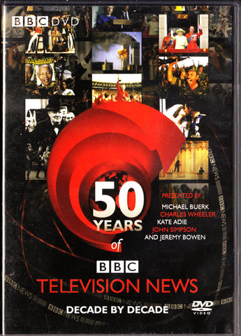 50 YEARS OF BBC TELEVISION NEWS  -  BBC DVD