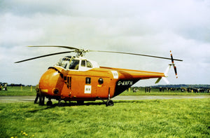 BEA Westland Wirlwind Helicopter G-ANFH  -  6x4 Print BE030