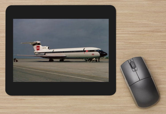 BEA British European Airways HS Trident 2 taxiing aircraft MOUSE MAT