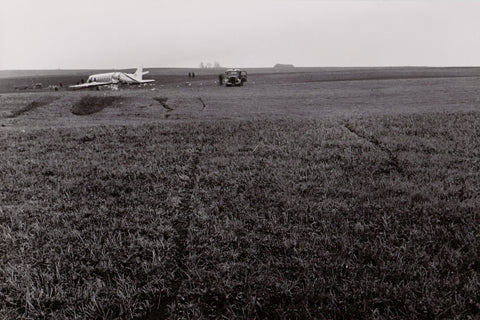 BEA Vickers Viscount G-AOHP Crashed at COPENHAGEN 18 Dec 1957 -  ORIGINAL PRINT -  9.5 x 7 inches BE004