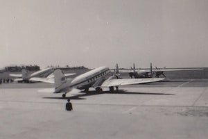 BEA Douglas DC3 Dakota with Elizabethan -  6x4 Print BE012