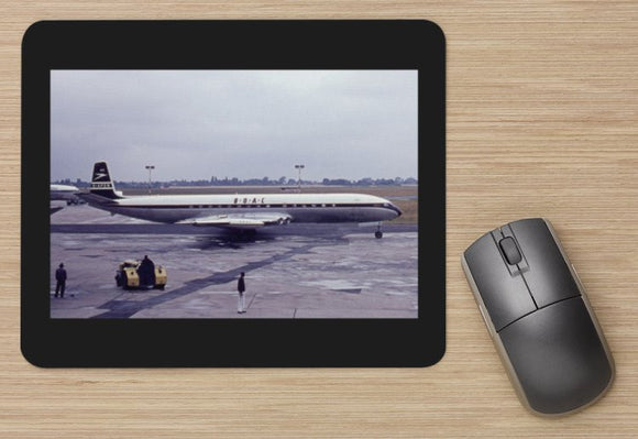 BOAC DH Comet 4C aircraft MOUSE MAT