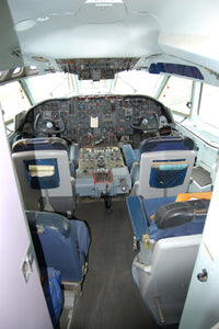 BOAC Vickers VC10 Flight Deck G-ASGC -  6 x 4 Print BO026
