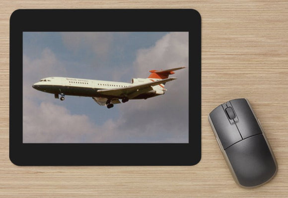 British Airways HS Trident 1e landing Heathrow aircraft MOUSE MAT
