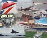 CONCORDE Aircraft 6x4 Print Bundle 1 - Buy 5 and get 3 FREE !