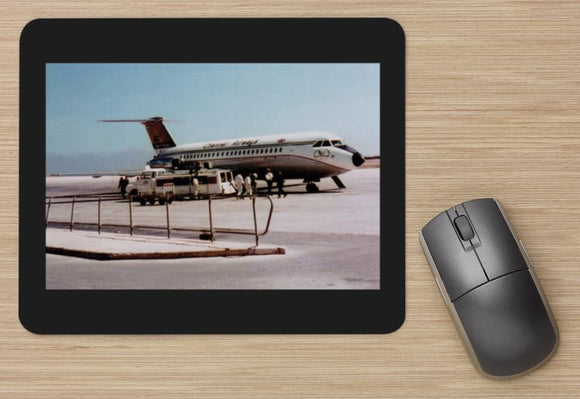Channel Airways BAC 111 at Malta - MOUSE MAT