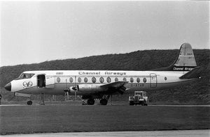 CHANNEL AIRWAYS VICKERS VISCOUNT G-AVTR - 6 x 4 Print