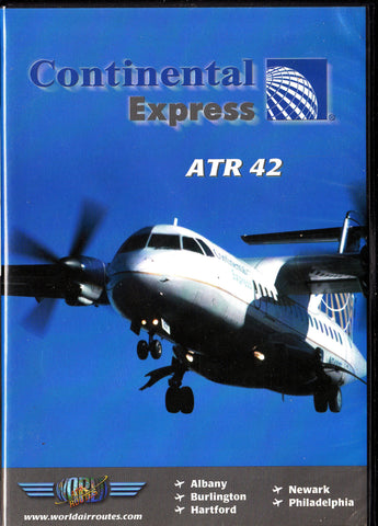 Continental Airlines ATR 42 -  Aircraft DVD