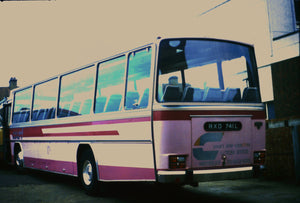 Court Line Coaches Luton Airport - 6 x 4 Print OU028