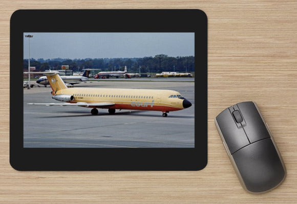 Court Line BAC 111 G-AXMK at Gatwick - MOUSE MAT