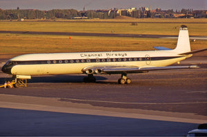 CHANNEL AIRWAYS DH COMET 4 G-APMB - 6 x 4 Print