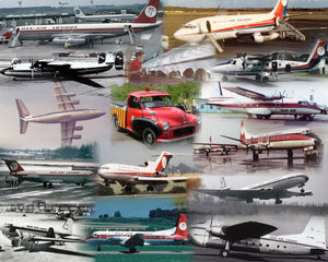 DAN AIR SERVICES  -  A4 Collage Print DA001