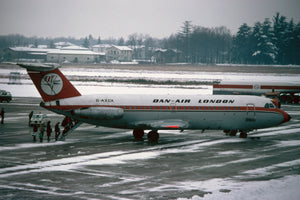 Dan Air Services BAC 111 G-AXCP -  6 x 4 Print DA002